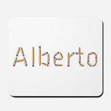 Alberto Pencils Mousepad