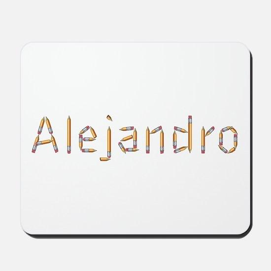 Alejandro Pencils Mousepad