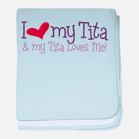 My Tita Loves Me baby blanket