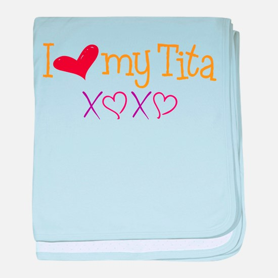 Love My Tita baby blanket