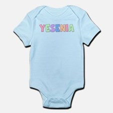 Yesenia Rainbow Pastel Infant Bodysuit
