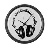 Dj headphones Giant Clocks