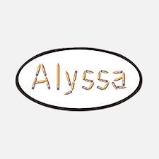 Alyssa Pencils Patch