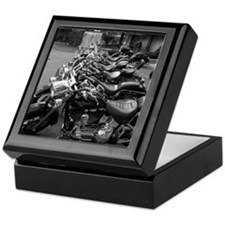 New Harleys in a Row Keepsake Box