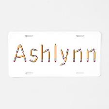 Ashlynn Pencils Aluminum License Plate