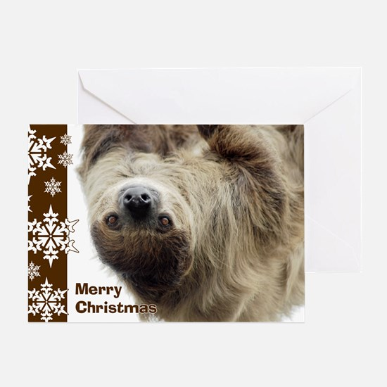 Sloth Card Greeting Cards