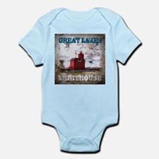 Great Lakes Lighthouse Infant Bodysuit