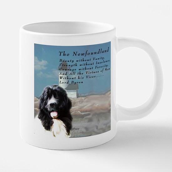Lord Byron Newf Mugs