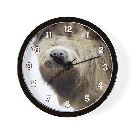 Sloth Wall Clock