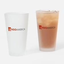 NGO America Drinking Glass
