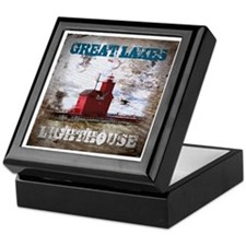Great Lakes Lighthouse Keepsake Box