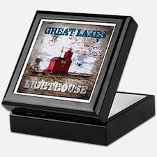 Great Lakes Lighthouse Keepsake Box