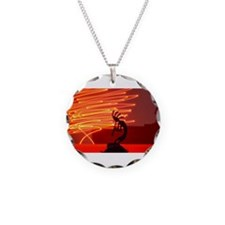 Kokopelli Creates Fire Energy Necklace