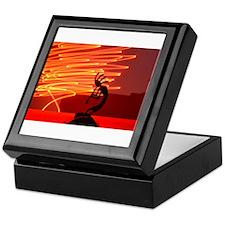 Kokopelli Creates Fire Energy Keepsake Box