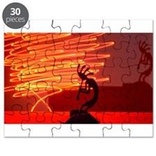 Kokopelli Creates Fire Energy Puzzle