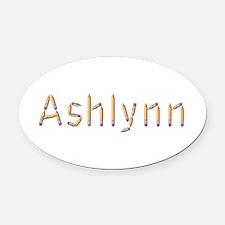 Ashlynn Pencils Oval Car Magnet