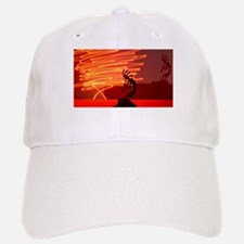 Kokopelli Creates Fire Energy Baseball Baseball Cap
