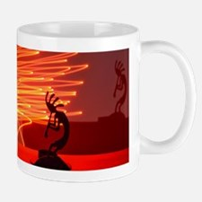 Kokopelli Creates Fire Energy Mug
