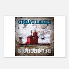 Great Lakes Lighthouse Postcards (Package of 8)