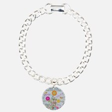 Denim Pocket Peace Love Hope Charm Bracelet, One C