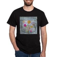 Denim Pocket Peace Love Hope T-Shirt
