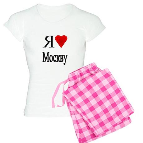 I Love Moscow Women's Light Pajamas