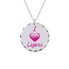 I Love/Heart Ligers Necklace