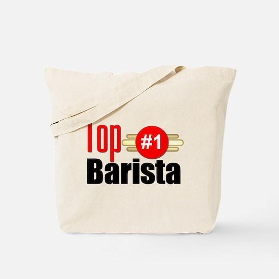 Top Barista Tote Bag