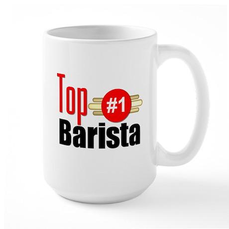 Top Barista Large Mug