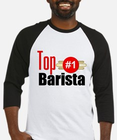 Top Barista Baseball Jersey