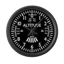 Funny Pilot Large Wall Clock