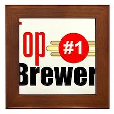 Top Brewer Framed Tile