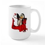 Sir Spanks Alot Large Mug