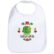 Turtle Lover Bib