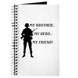 Air force sister Journals & Spiral Notebooks