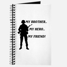 My Brother, My Hero, My Freind.. Journal