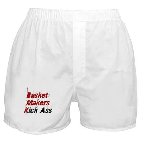 Basket Makers Kick Ass Boxer Shorts