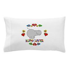 Hippo Lover Pillow Case