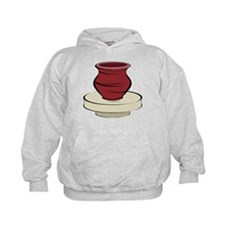 Clay Pottery Hoodie