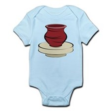 Clay Pottery Infant Bodysuit