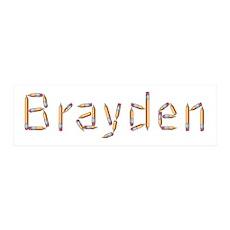 Brayden Pencils 36x11 Wall Peel