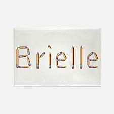 Brielle Pencils Rectangle Magnet