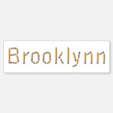 Brooklynn Pencils Bumper Car Car Sticker