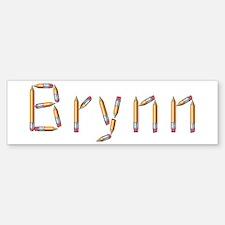 Brynn Pencils Bumper Bumper Bumper Sticker