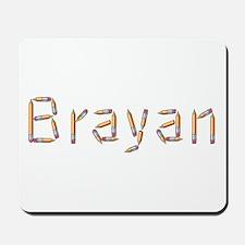Brayan Pencils Mousepad