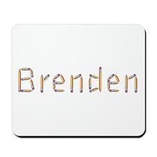 Brenden Pencils Mousepad