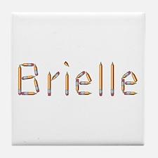 Brielle Pencils Tile Coaster