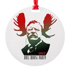 Bull Moose Party Ornament