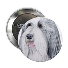 Bearded Collie Button