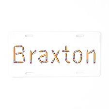 Braxton Pencils Aluminum License Plate